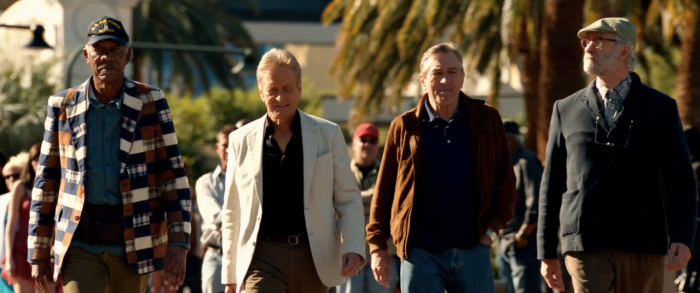 One of the more interesting scenes in Last Vegas